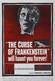 The Curse of Frankenstein (1957)- First Colour Horror Film