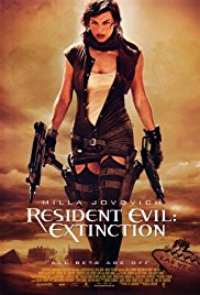 Resident Evil Extinction Horror Movie Details