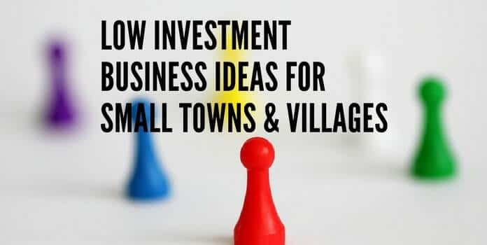 Top 30 small businesses idea to start or franchise for a small village