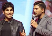 Allu Sirish and Allu Arjun