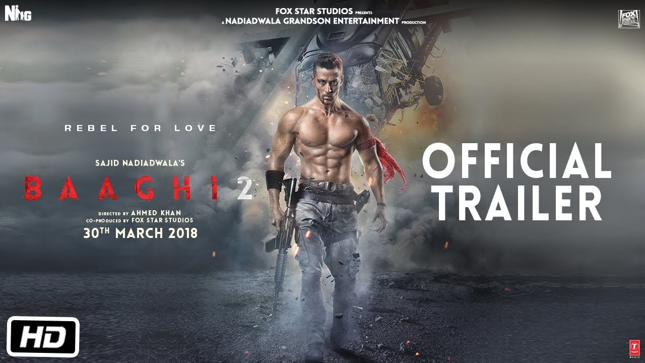 Watch Bollywood Movie Baaghi 2 Full Movie Download Online Hd