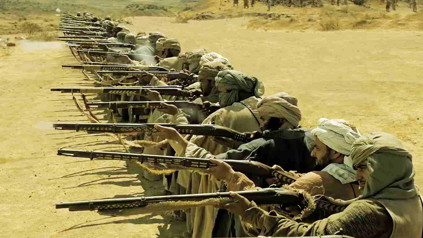 Afgan Army Attacks