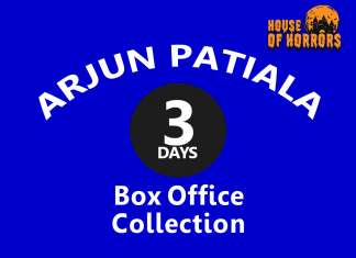 Arjun Patiala 3rd Day Box Office Collection