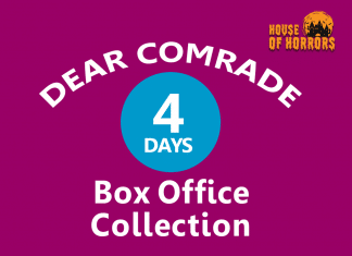 Dear Comrade 4th Day Box Office Collection