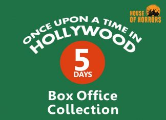 Once Upon a Time in Hollywood 5th Day Box Office Collection