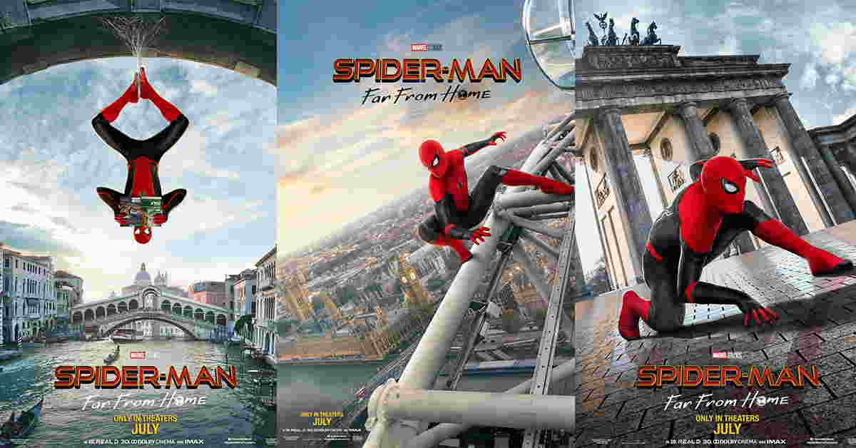 spider-man-far-from-home-posters