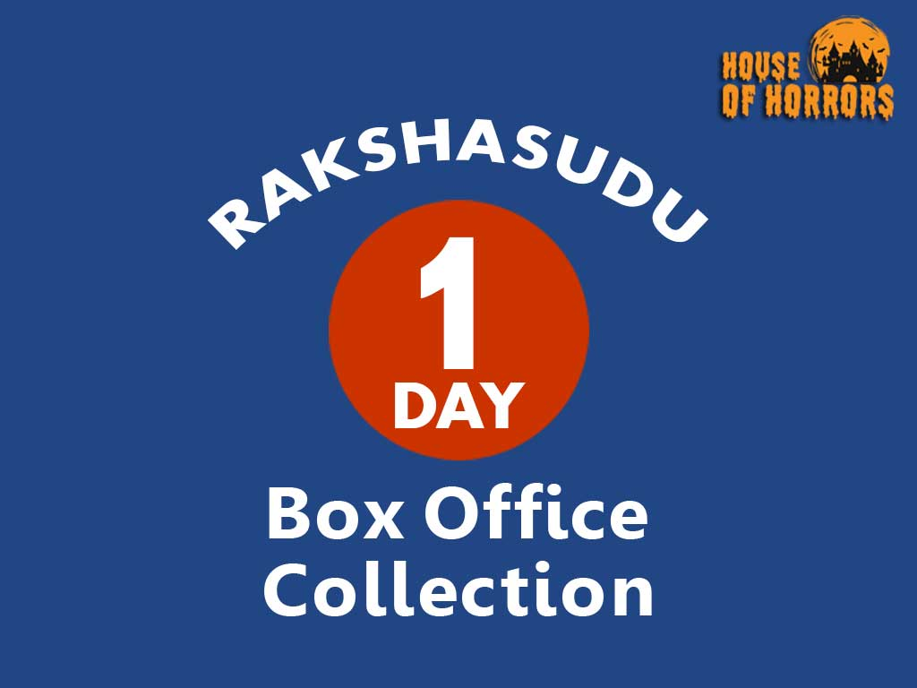 Rakshasudu 1st Day Box office Collection
