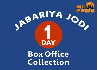 Jabariya Jodi 1st Day Box office Collection
