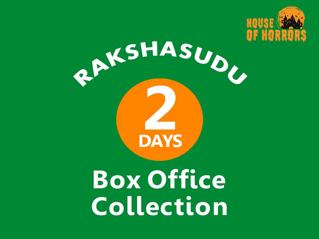 Rakshasudu 2nd Day Box office Collection