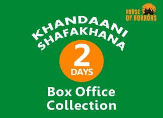Khandaani Shafakhana 2nd Day Box office Collection