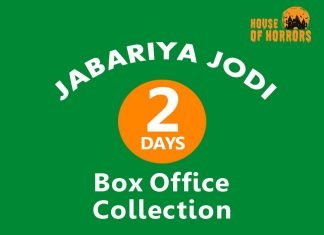 Jabariya Jodi 2nd Day Box office Collection