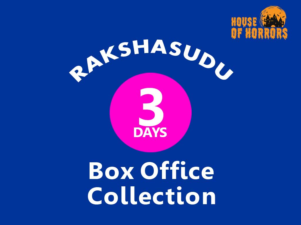 Rakshasudu 3rd Day Box office Collection