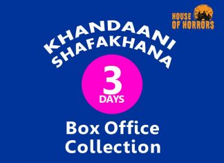 Khandaani Shafakhana 3rd Day Box office Collection