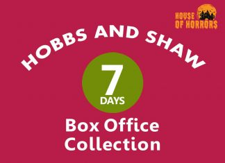 Hobbs and Shaw 7th Day Box Office Collection