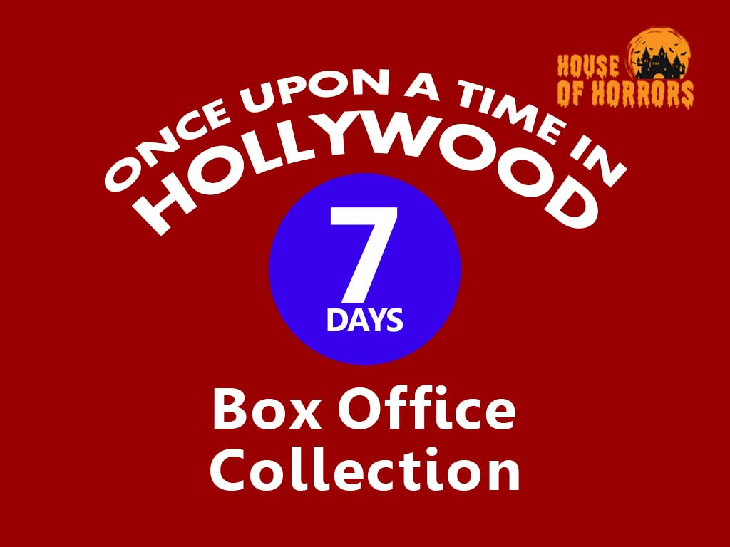 Once Upon a Time in Hollywood 7th Day Box Office Collection