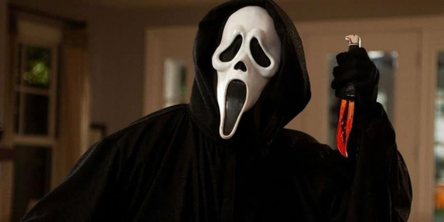 Ghostface in New Scream Movie